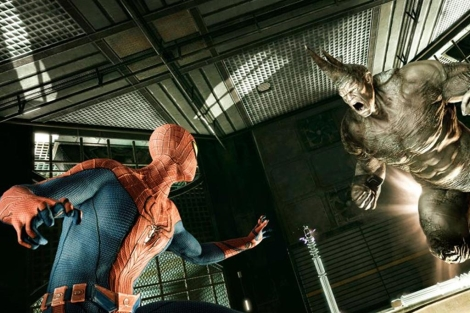 Fotograma de la pel�cula 'The amazing Spiderman'.