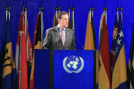 Mariano Rajoy, 'primer ministro de las islas Salomón' según la ONU 1340240634_0