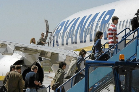 Avin de Ryanair. | J. M. Lostau