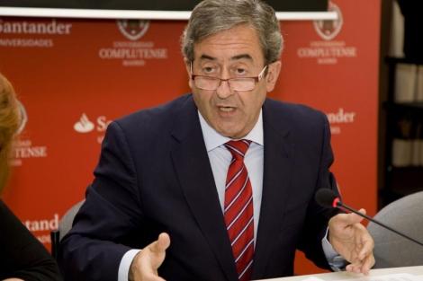 Zaragoza, fiscal jefe de la Audiencia Nacional, en el curso de El Escorial.