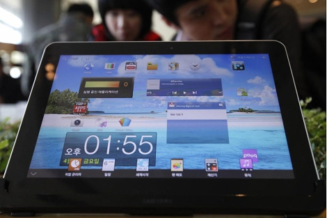 Galaxy Tab 10.1. | Reuters