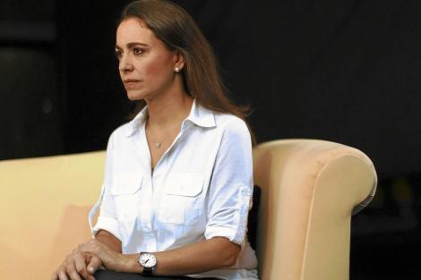 La diputada venezolana María Corina.