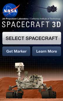 El programa Spacecraft 3D. | NASA