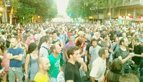 Imagen de la calle Génova hasta Colón. | Guillermo Zapata