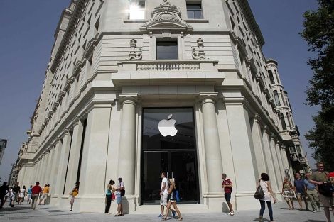 Nueva tienda de Apple en Barcelona. | Reuters