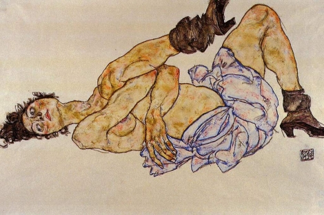 Desnudo femenino reclinado (1908)