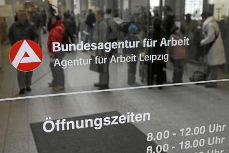 Una oficina de empleo en Alemania. | Afp