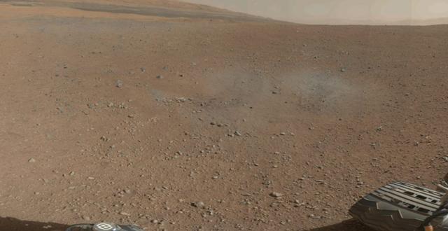 Imagen panorámica a color de Marte, enviada por 'Curiosity'. | NASA