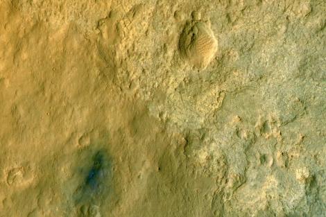 Una de las últimas fotografías tomadas de Marte.