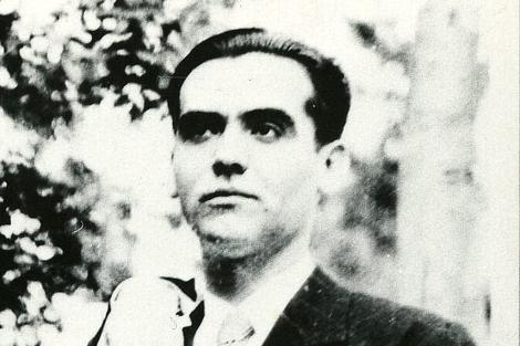 El poeta granadino en una foto de archivo de la 'Colección Federico García Lorca'