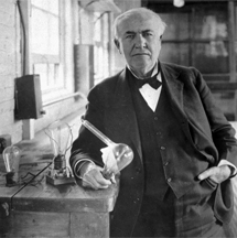 Thomas Alva Edison. | Ap