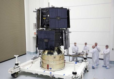 Una de las sondas de la misión. | NASA