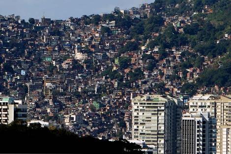 Imagen de la favela de Rocinha, en Río de Janeiro. | EFE
