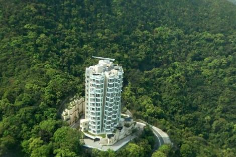 Edificio Opus, diseñado por Ghery en Hong Kong. | E. M.