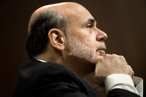 El presidente de la Reserva Federal, Ben Bernanke. | Afp