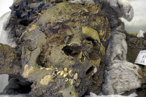 Restos de un neandertal del yacimiento murciano de la Cueva Negra. | EM