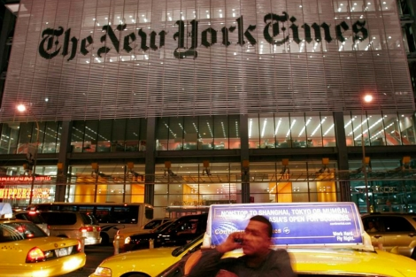 Sede del 'New York Times' en Manhattan. | EL MUNDO
