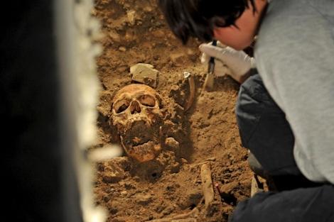 Hallan esqueleto que podria ser el de la Mona Lisa 1349260647_0