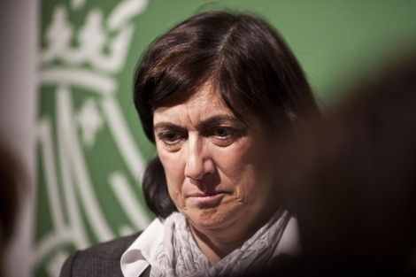 Marisa Gracia, gerente de Ferrocarrils de la Generalitat Valenciana. | José Cuéllar