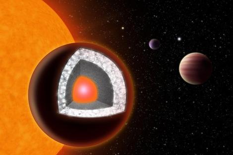 Recreación del planeta recién descubierto. | Reuters