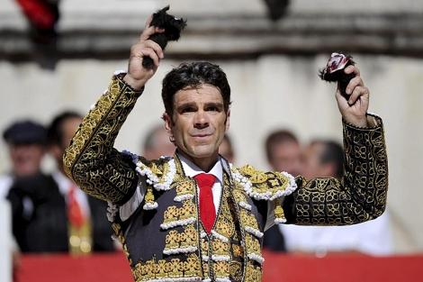 José Tomás en Nimes. | Foto: Efe