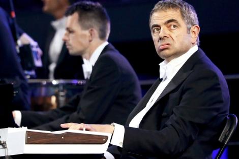 Mr. Bean, durante la ceremonia de inauguración de los Juegos Olímpicos.| Reuters