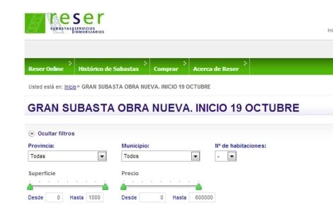 Reser ofrece subastas on-line de inmuebles propiedad de Bankia. | EM