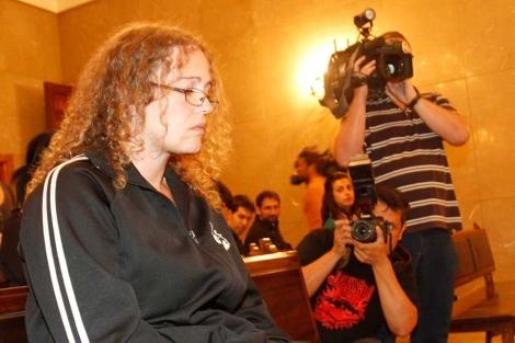 Mónica Juanatey durante el juicio. | Pep Vicens