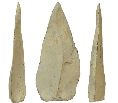 Las piedras descubiertas en el yacimiento de Kathu Pan en Sudáfrica. | Jayne Wilkins