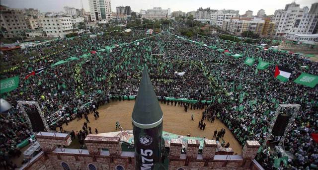 Imagen de las masivas concentraciones. | Reuters