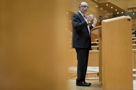 El ministro de Hacienda, Cristóbal Montoro. | Gonzalo Arroyo