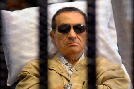 El ex presidente egipcio Hosni Mubarak. | Afp height=313