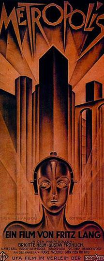 Cartel del filme 'Metropolis'.