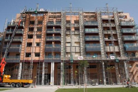 Edificios en construcción. | Antonio Pastor