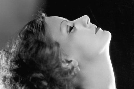 La actriz Greta Garbo. | Bull