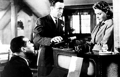 La famosa escena de 'Casablanca'.