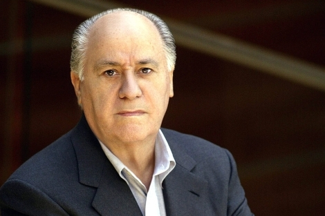Amancio Ortega, propietario de Inditex.