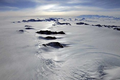 Una imagen de las montañas Ellsworth, en la Antártida Occidental. | Efe