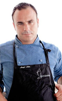 El chef Ángel León.