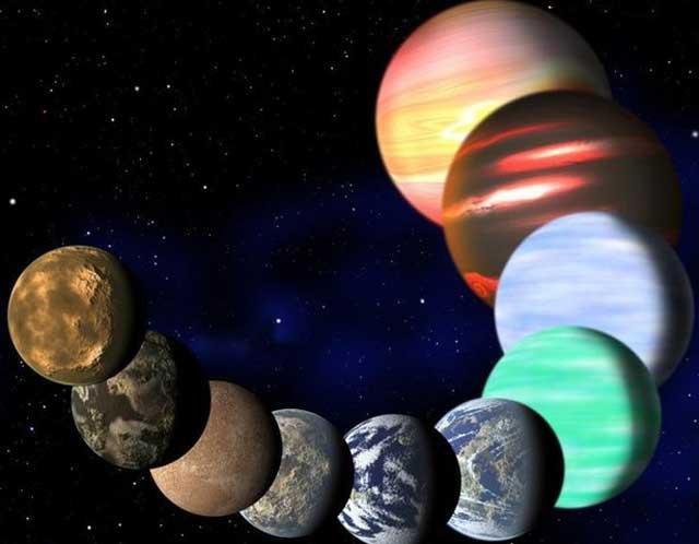 Representación artística de los nuevos planetas descubiertos por Kepler. | NASA