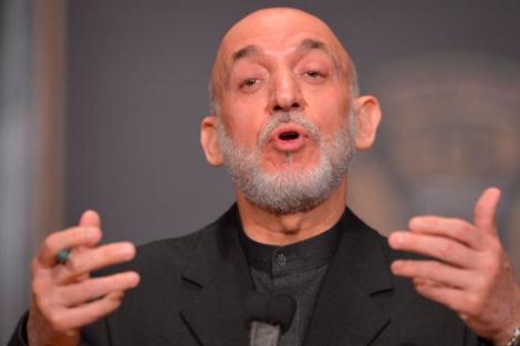 Hamid Karzai. | Afp