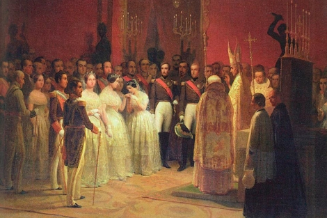 Boda de Isabel II y Francisco de Ass. | [MS IMGENES]