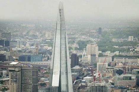 Vista del edificio Shard de Londres. | EM