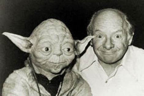 Una imagen de Yoda y su creador Stuart Freeborn.   ElMUNDO.es