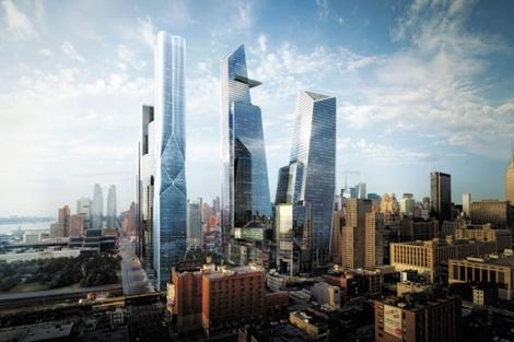 Recreación del proyecto urbanístico 'Hudson Yards', Chelsea. | Related Companies