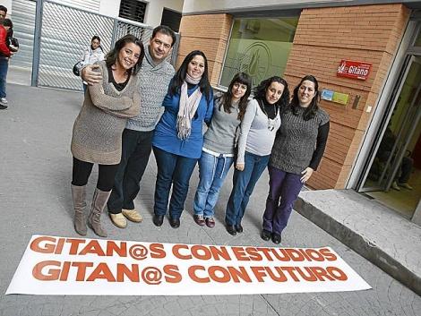 Miembros de la Asociación del Secretariado Gitano. | Antonio Pastor
