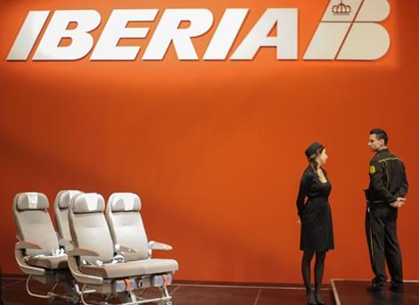 Un stand de Iberia en Fitur. | Afp