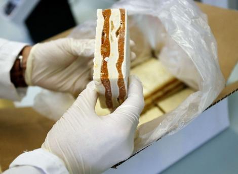Análisis de una lasaña en un laboratorio de referencia suizo. | Afp
