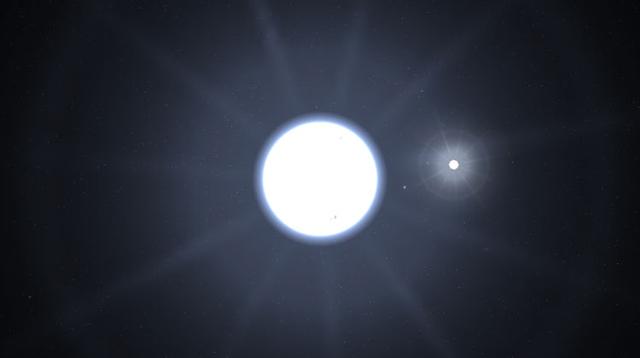 Imagen de la estrella Sirio