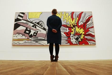 Una de las obras míticas de la exposición.| Reuters/Luke MacGregor